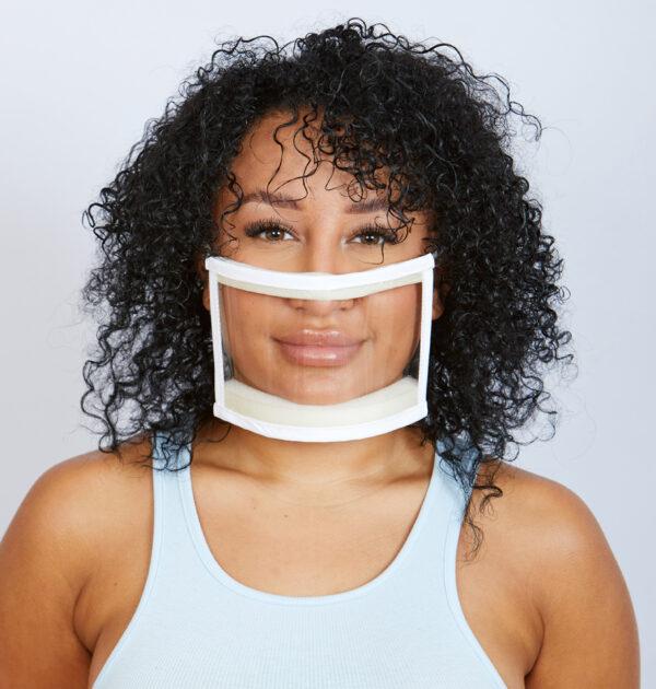 Transparent PPE Mask